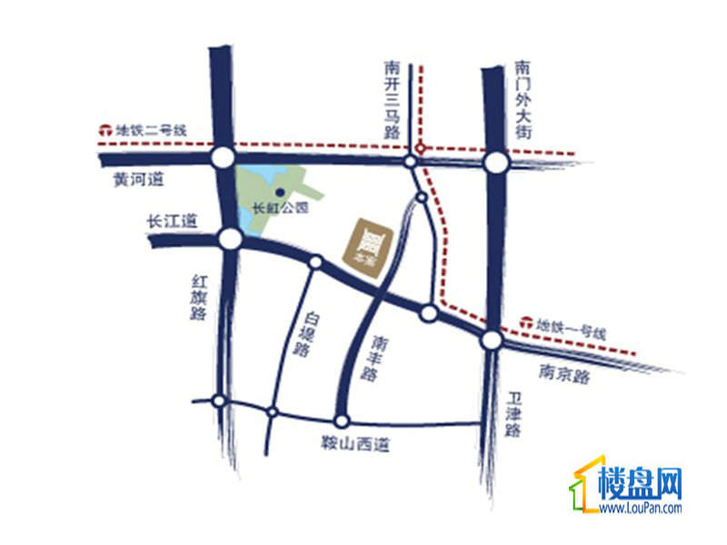 宝利国际广场位置图