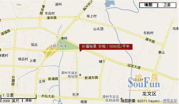 长福裕景交通图