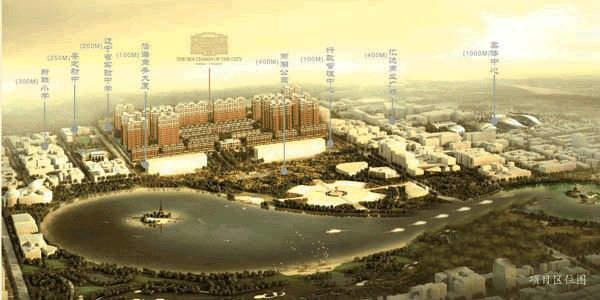 中大·海韵郦城交通图
