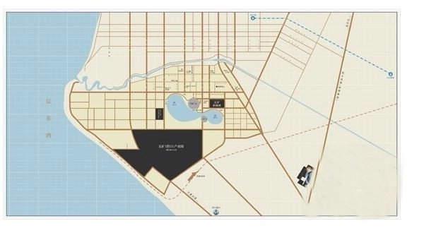 五矿·铂海湾交通图