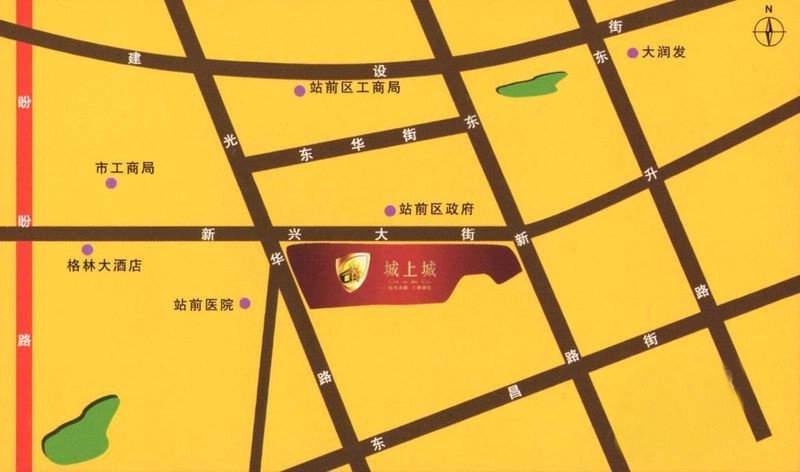 城上城交通图