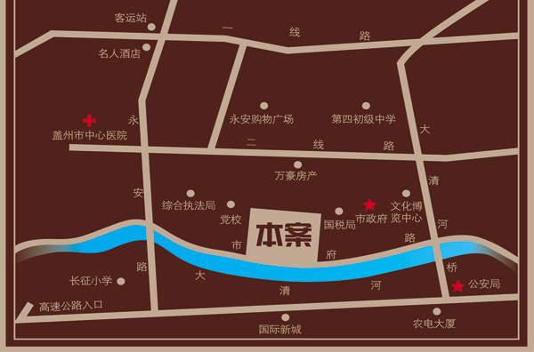 怡景湾壹号交通图