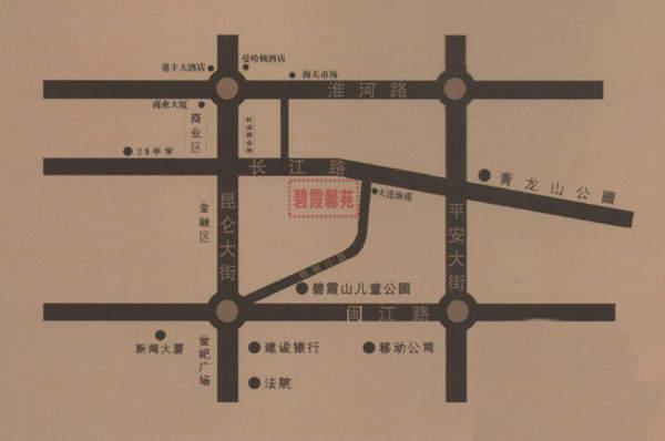 碧霞馨苑交通图
