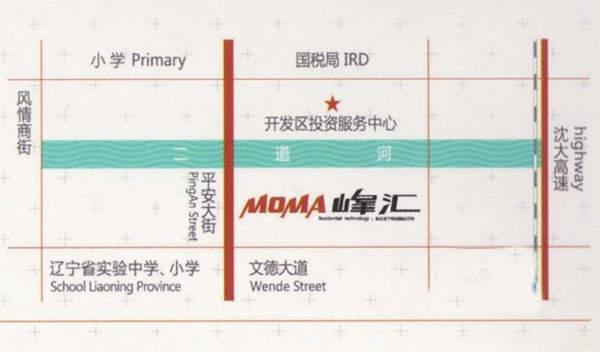 MOMA峰汇交通图