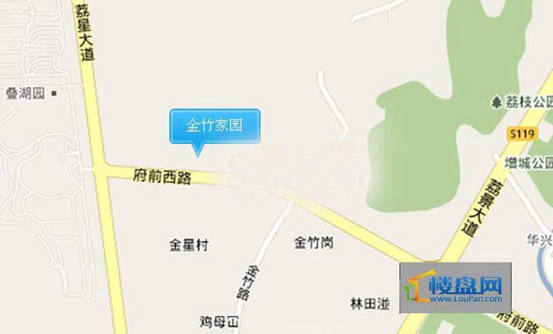 金竹家园交通图