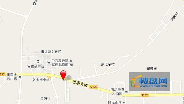华汇国际广场交通图