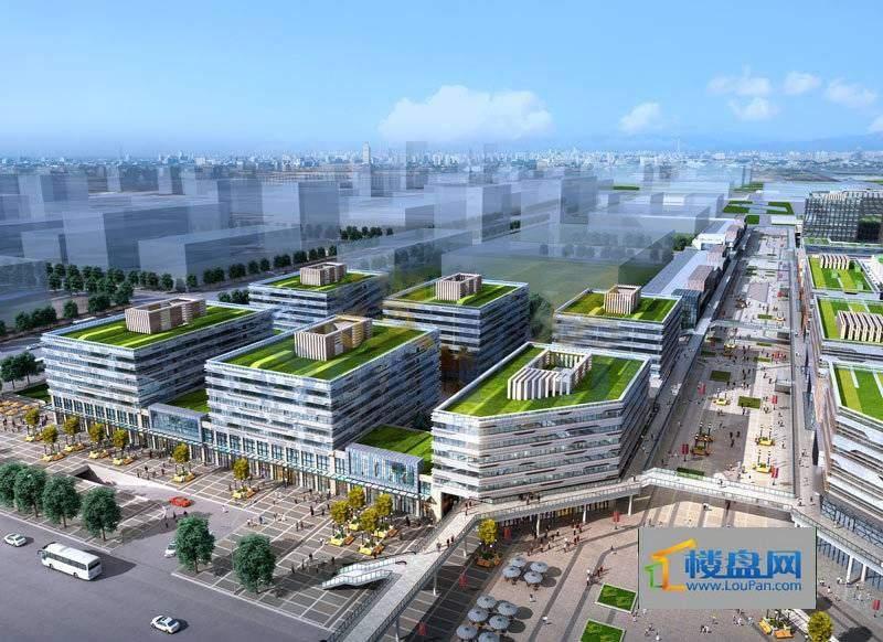 广州白云万达广场公寓效果图