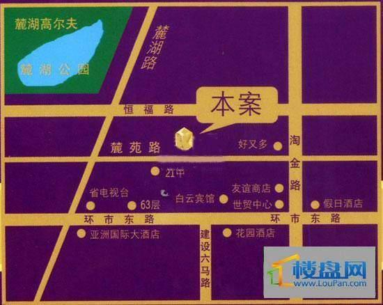 麓湖御景交通图