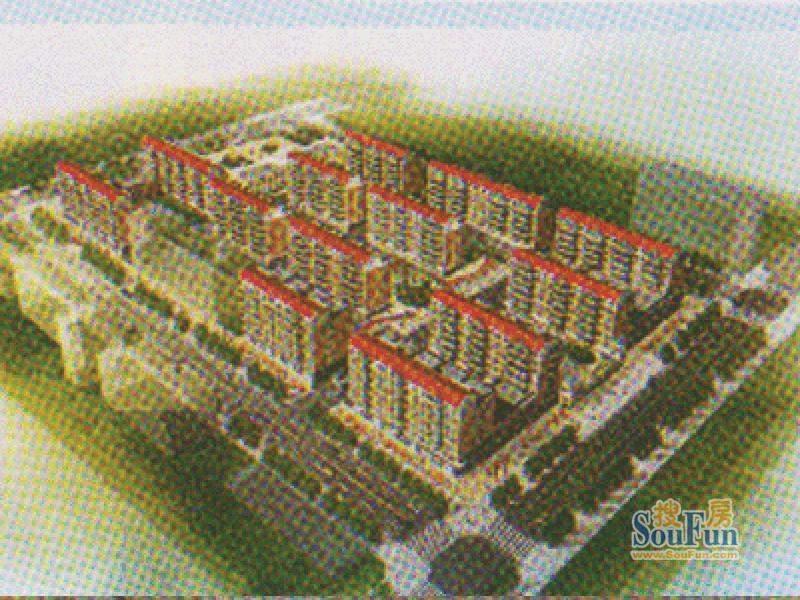 牡丹江尚品鸿城效果图
