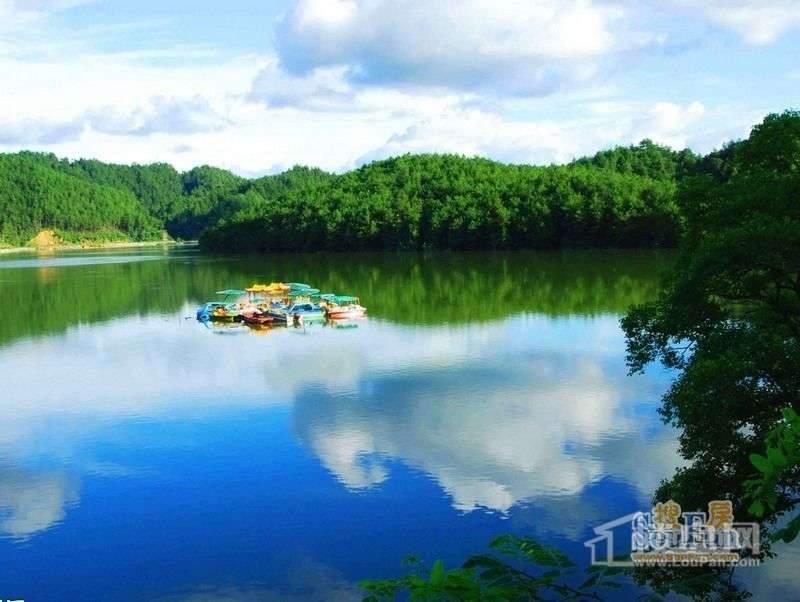 安居绿园项目向南约1公里的太平湖