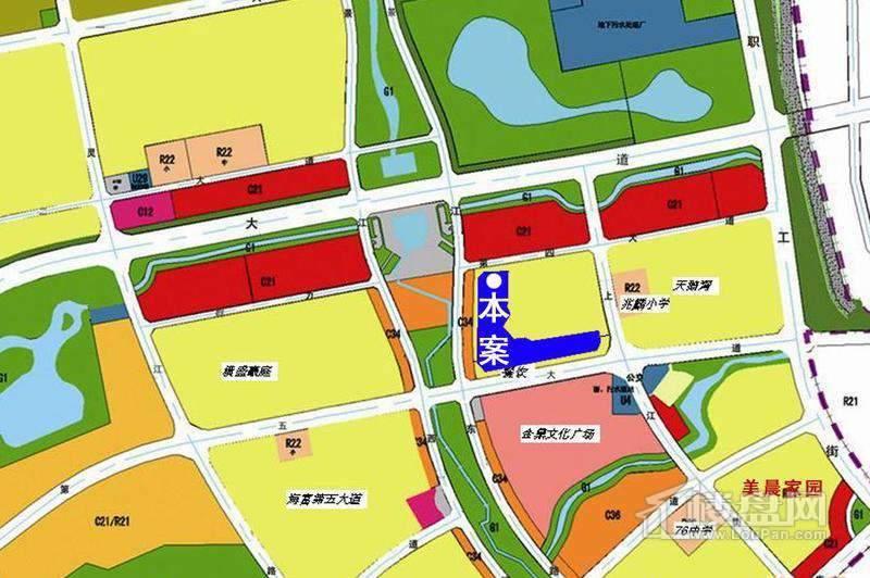 群力金中环项目交通图