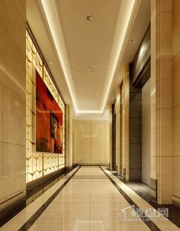 红星城电梯间