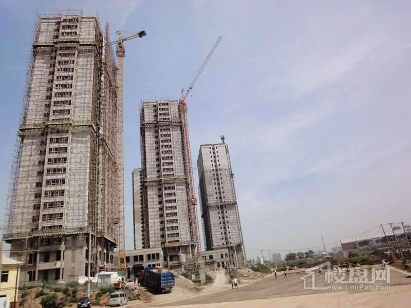 红星城项目工程进度实景图(2012-7-17)6