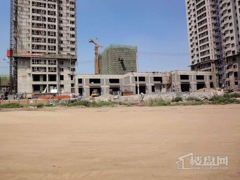 红星城项目工程进度实景图(2012-7-17)8