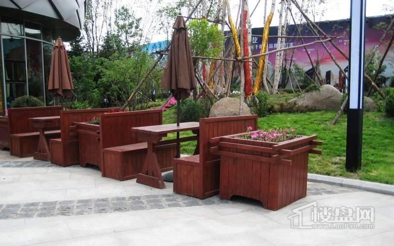 鲁商松江新城项目绿化实景图