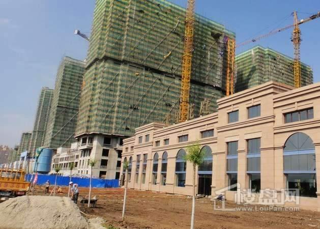 半里花庭项目工程进度实景图(2012-6-20)