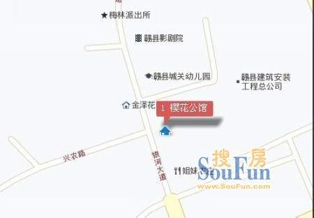 赣县樱花公馆效果图