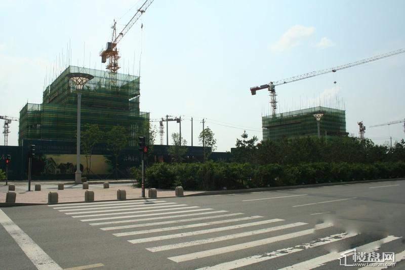 汇锦庄园项目施工全景(2012-6-14)