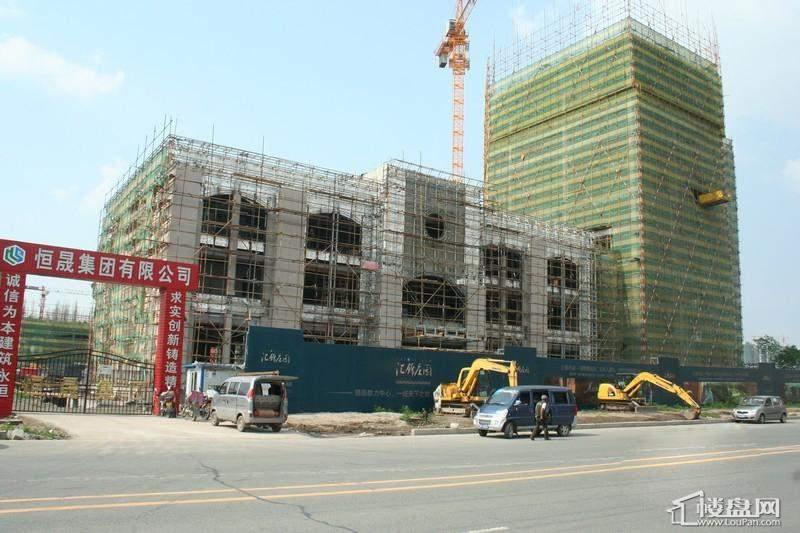 汇锦庄园项目施工实景(2012-6-14)