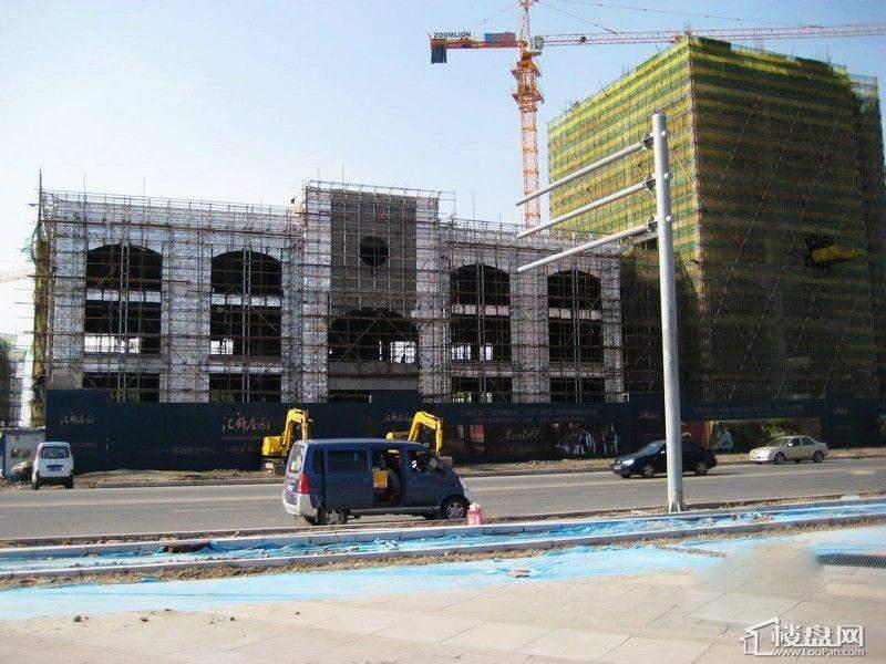 汇锦庄园项目在建实景图(2012-5-31)