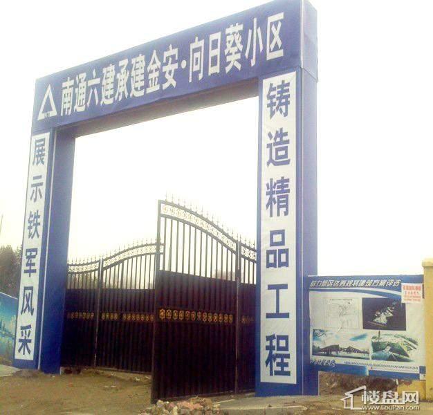 金安向日葵工程大门(2012-3-30)