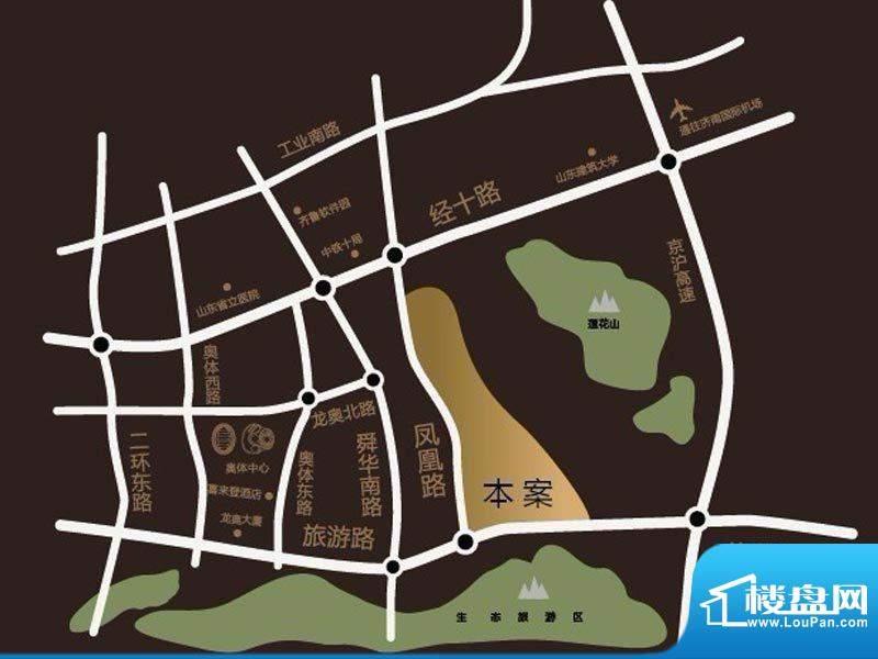 中铁·逸都国际交通图