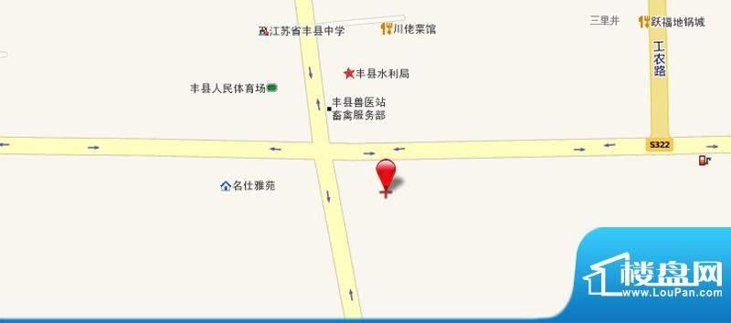 名仕紫金花园交通图