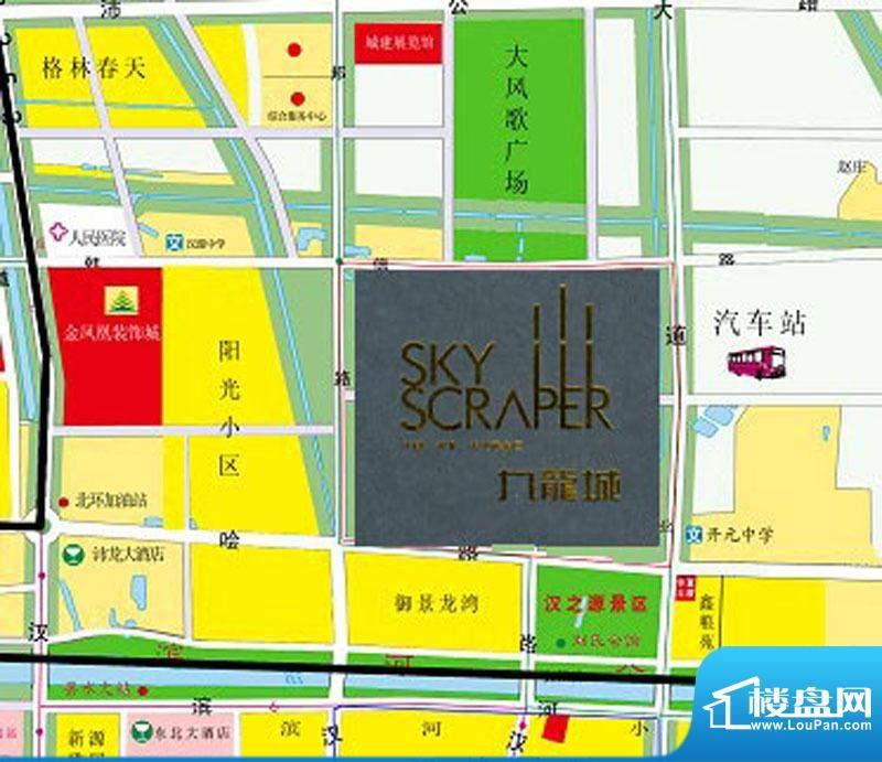 德信九龙城交通图