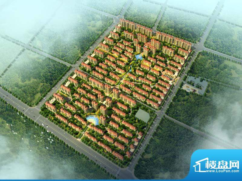 翡翠城实景图