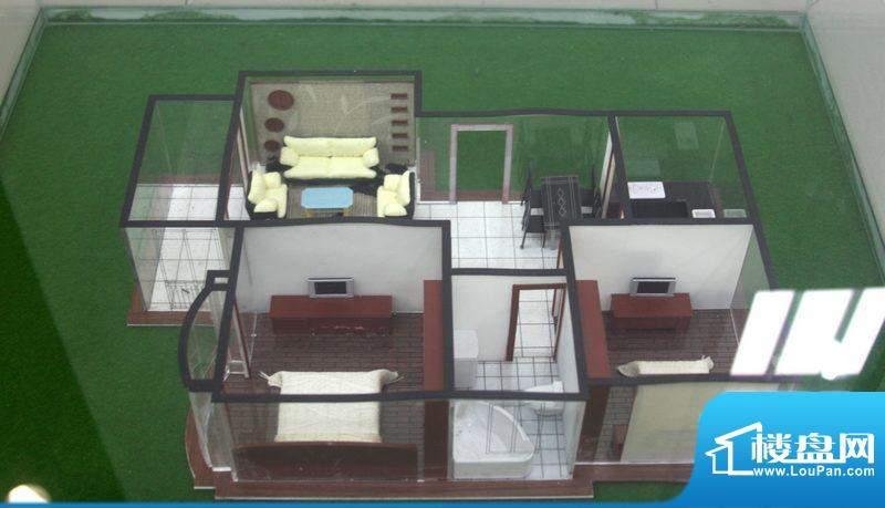 翡翠城A1户型 2室2厅面积:85.00平米