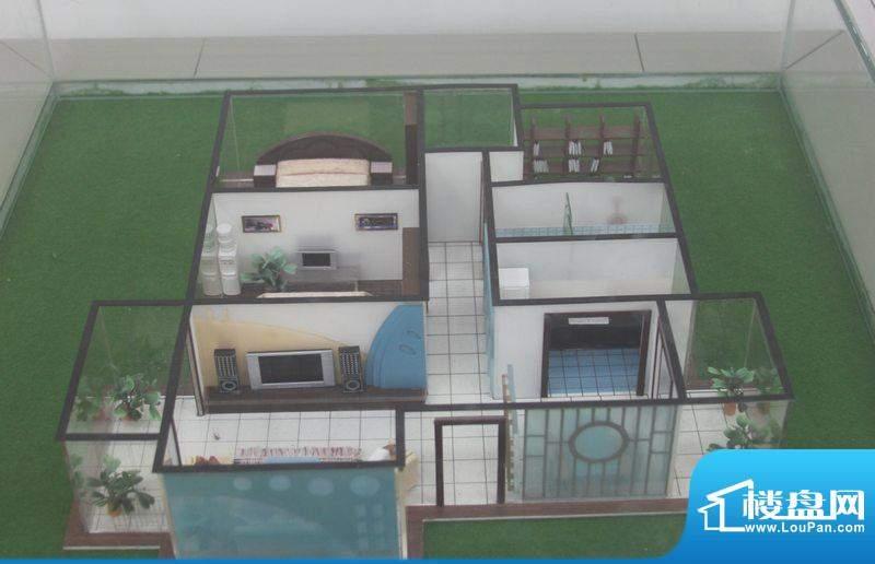 翡翠城A3户型 3室2厅面积:120.00平米