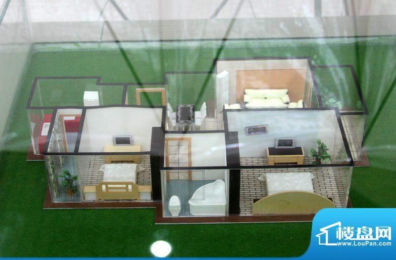 翡翠城B1户型 2室2厅面积:93.00平米