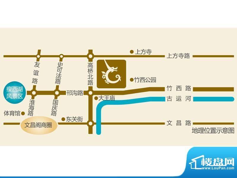 大上海御龙湾交通图