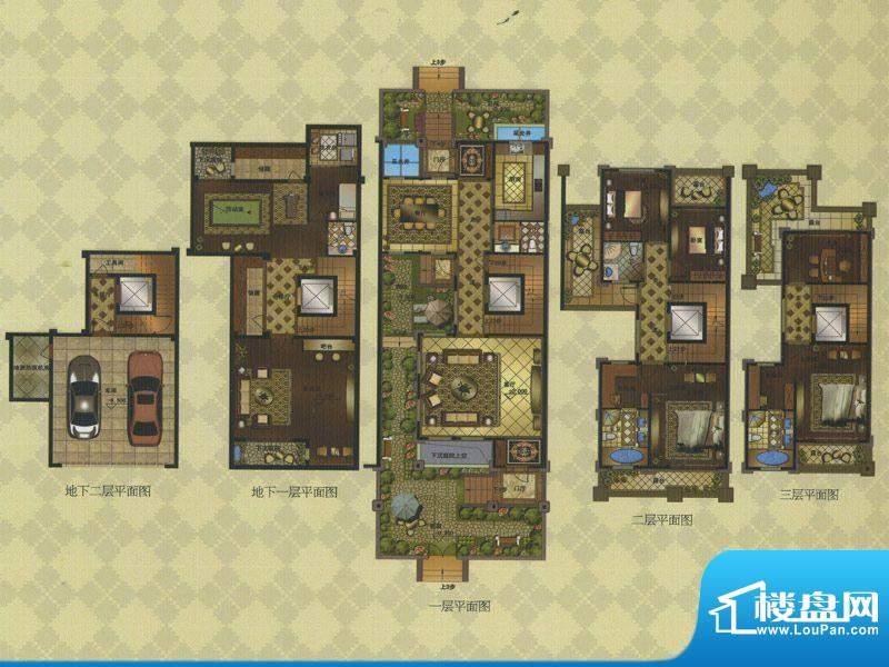 名门壹品E户型 7室3面积:278.28平米