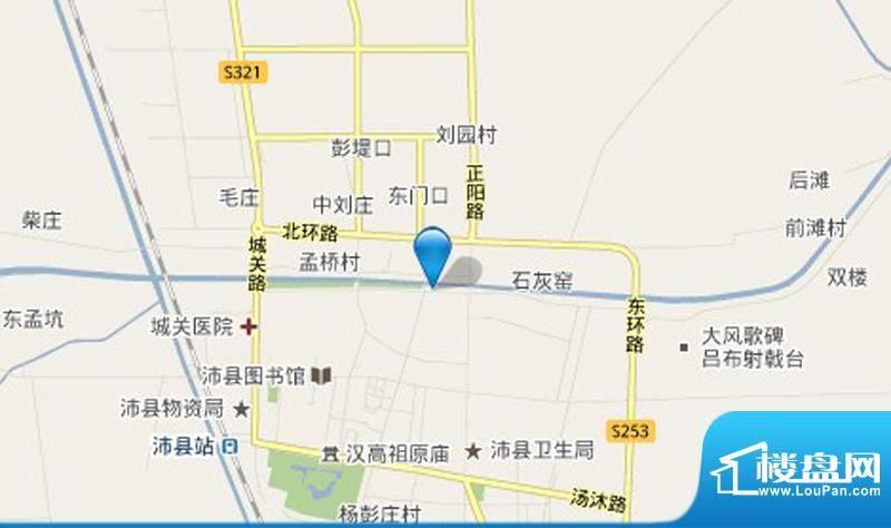 汇景国际交通图