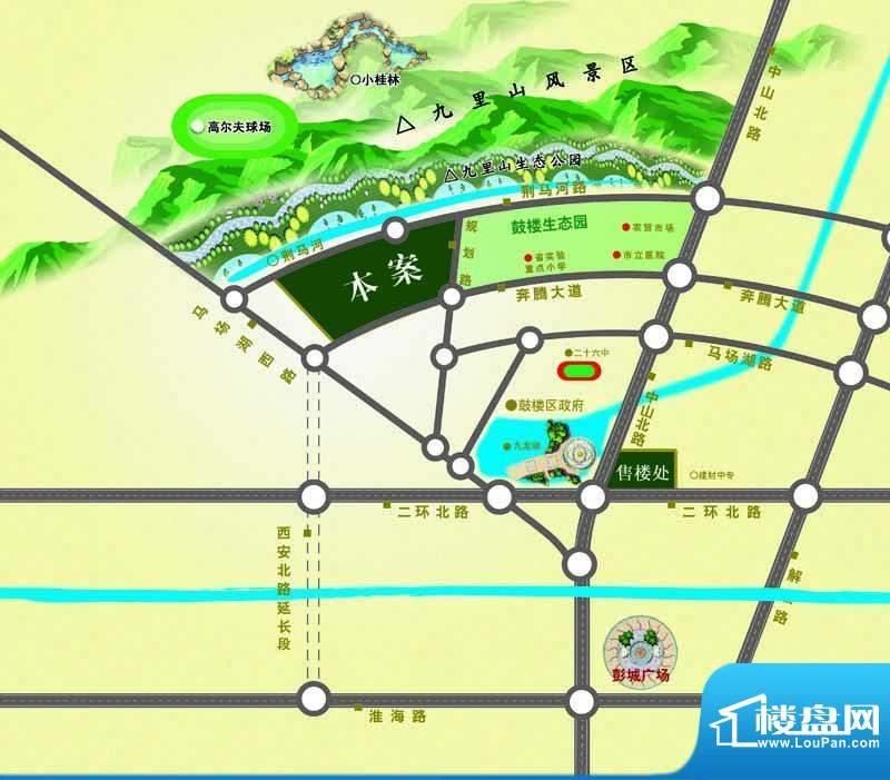 山南小镇交通图