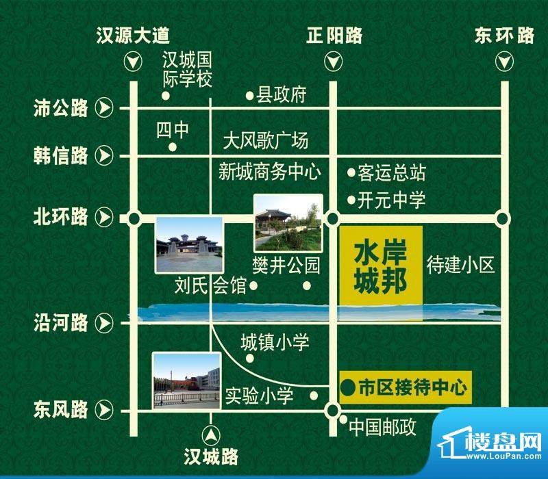 正阳水岸城邦交通图