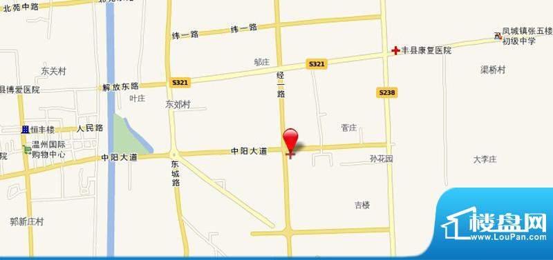 怡景新城交通图