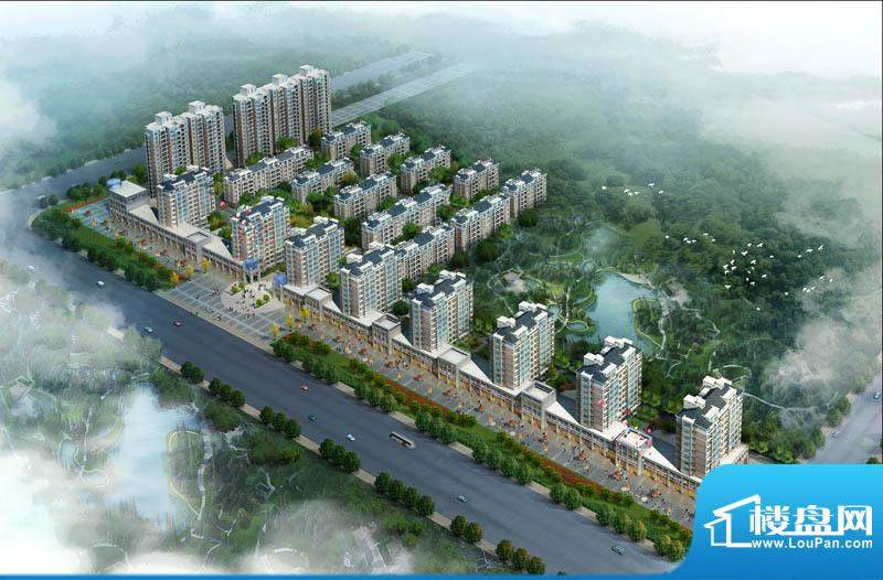 怡景新城鸟瞰图