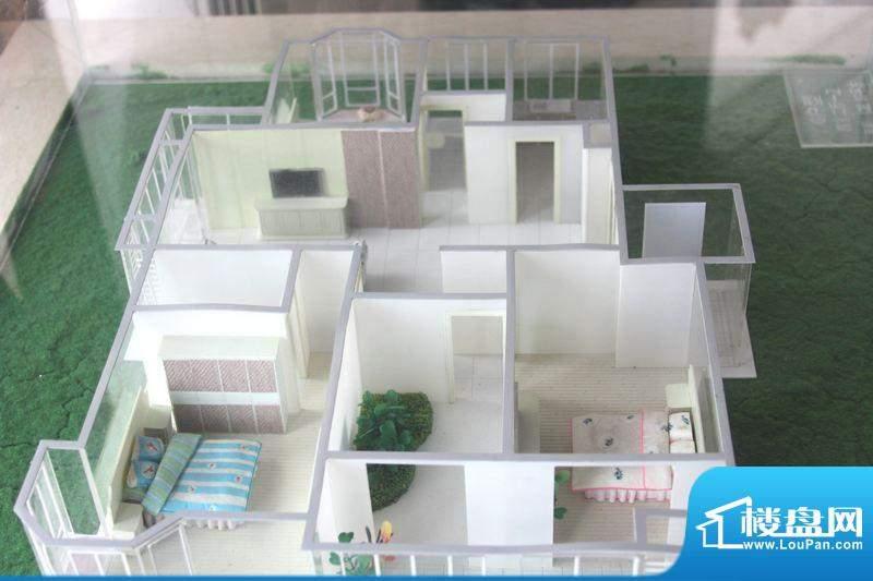 怡景新城G户型 4室2面积:138.07平米