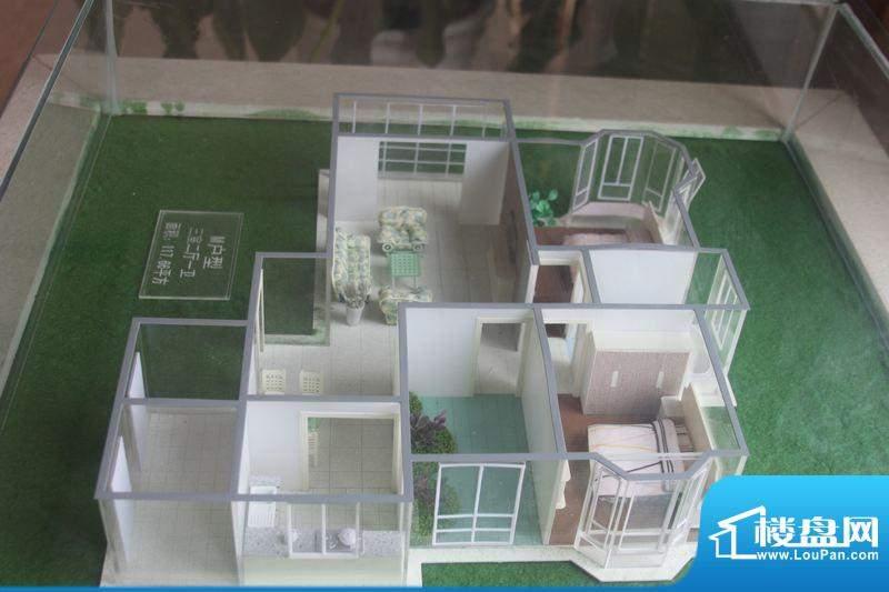 怡景新城M户型 3室2面积:117.66平米