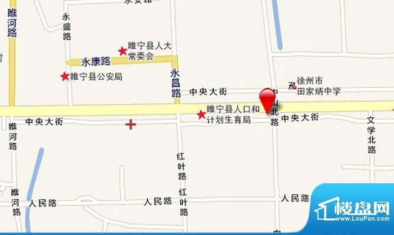 万宁城市景苑交通图