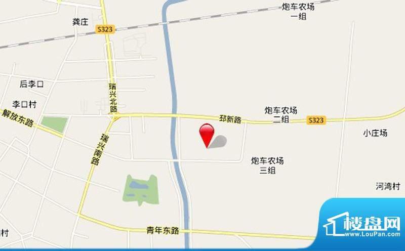 汇龙国际花园交通图
