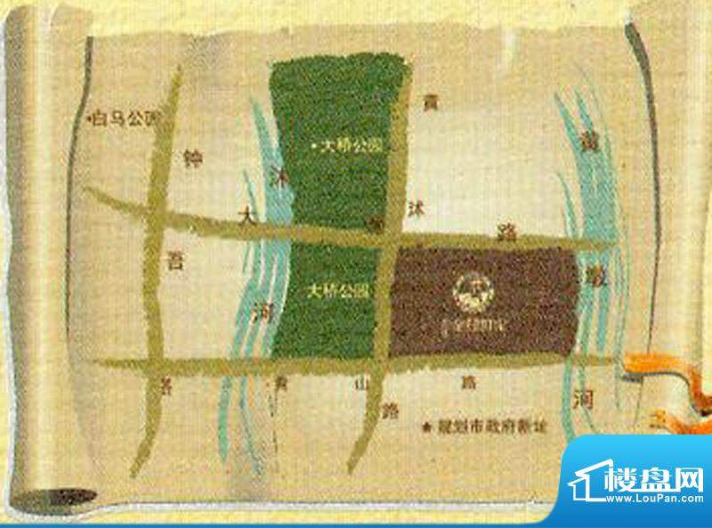 国信金邸世家交通图