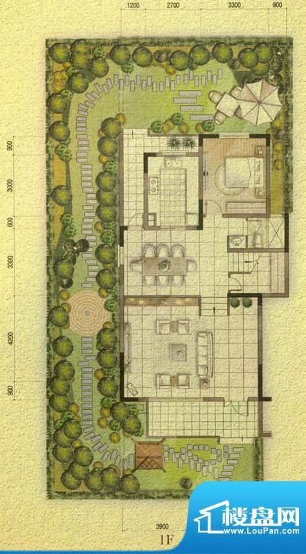 国信金邸世家G-1F 5面积:179.62平米