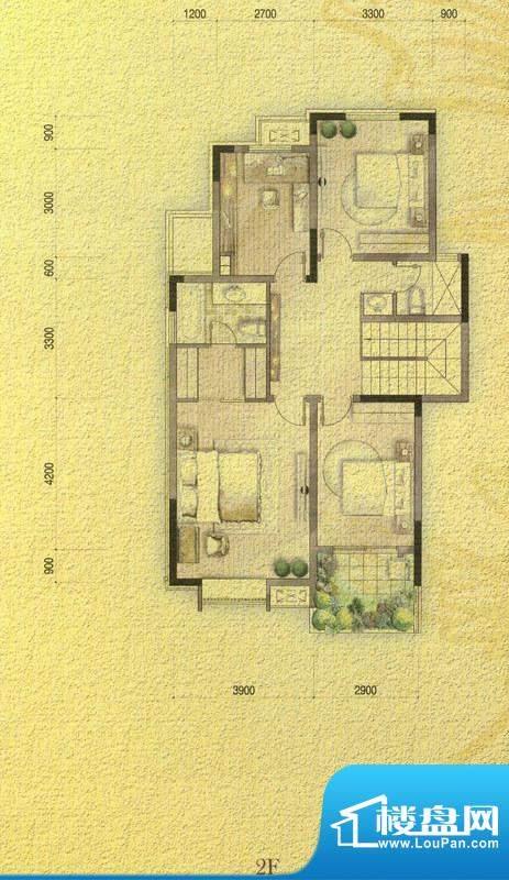 国信金邸世家G-2F 3面积:206.32平米