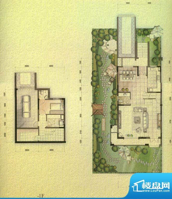 国信金邸世家H联排别面积:242.97平米