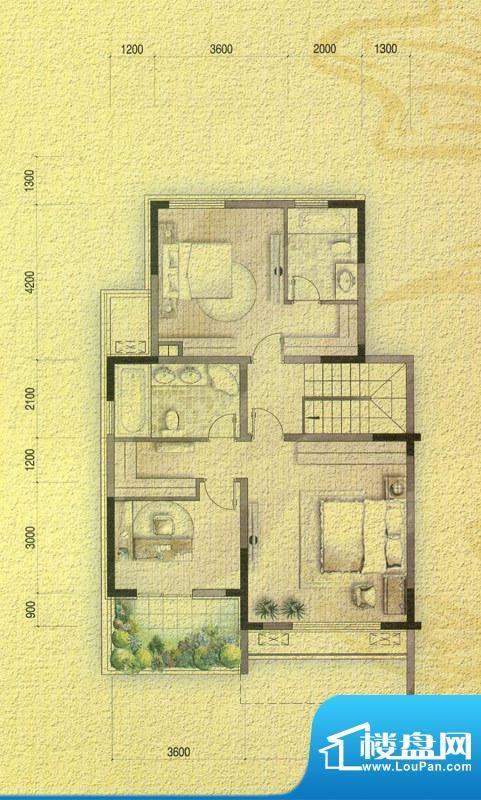 国信金邸世家F叠加别面积:194.80平米