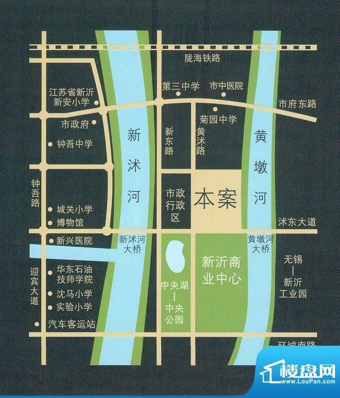 达信国际交通图