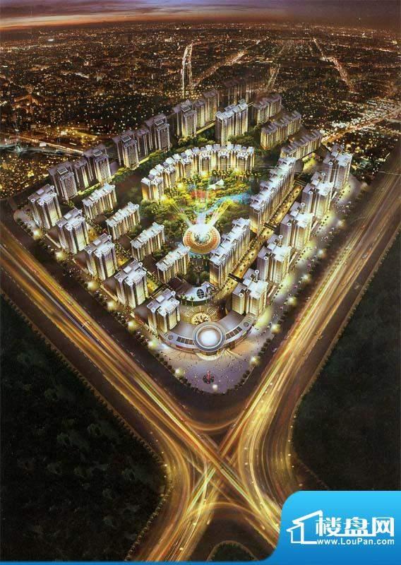 富贵第一城实景图